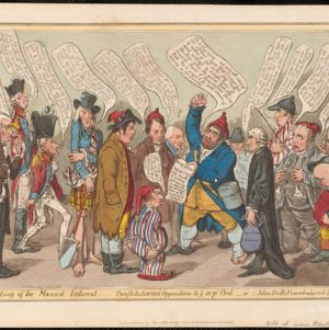 James Gillray (1756-1815). Prints and Drawings