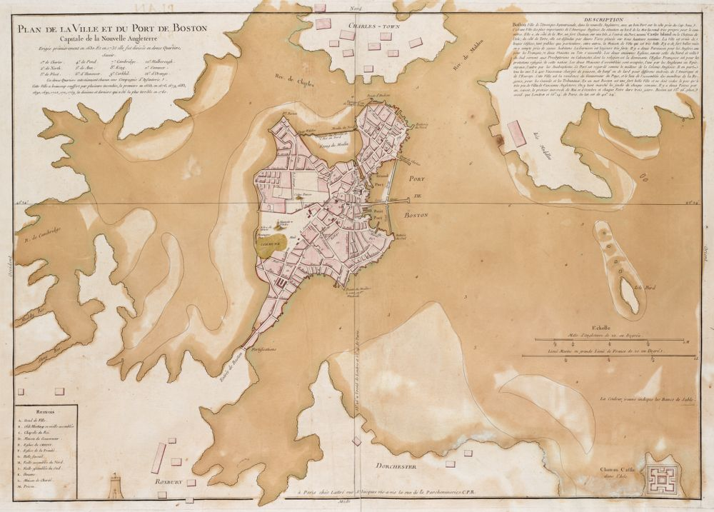Lattré map of Boston