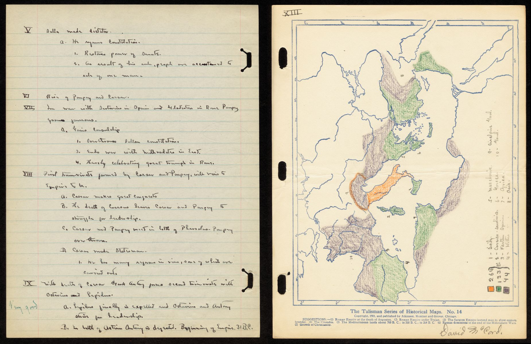 Teaching with Maps in the Past