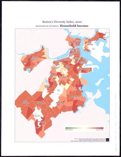 Boston's diversity index, 2010 : measures of diversity