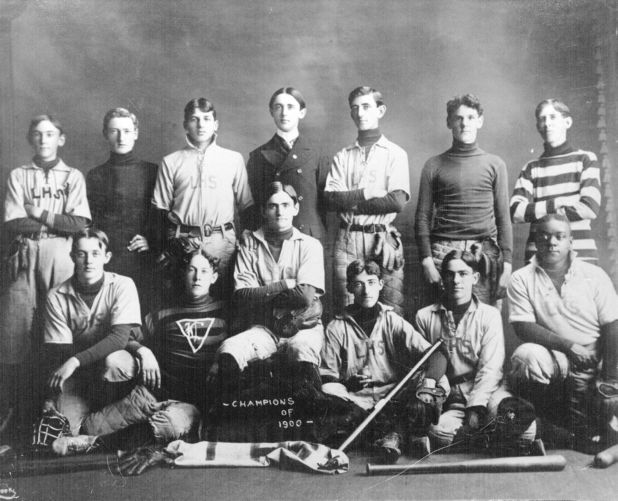 1900 Lawrence High School baseball team