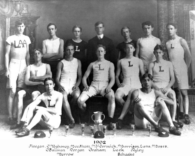 1902 Lawrence High School track team