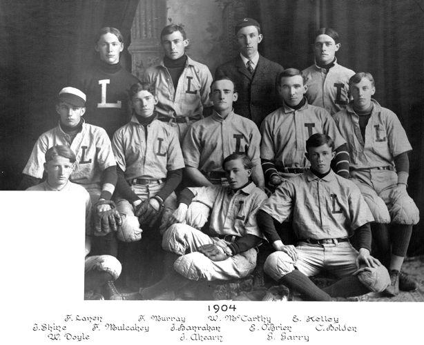 1904 Lawrence High School baseball team