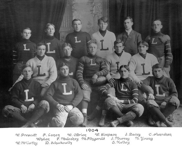 1904 Lawrence High School football team