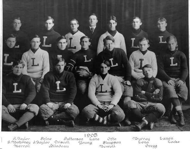 1905 Lawrence High School football team