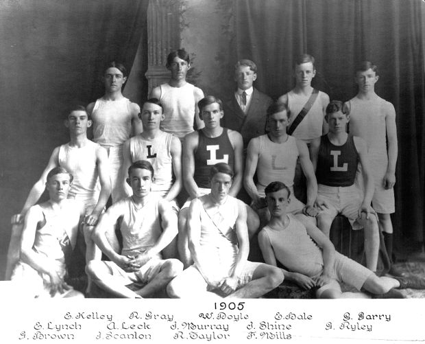 1905 Lawrence High School track team