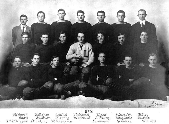 1912 Lawrence High School football team
