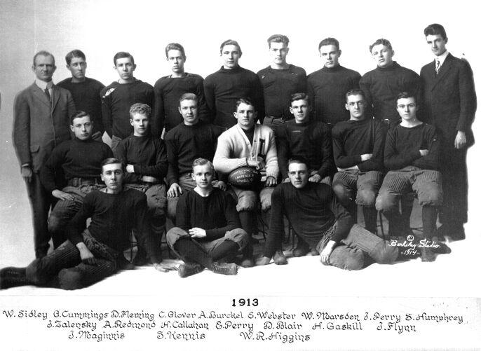 1913 Lawrence High School football team