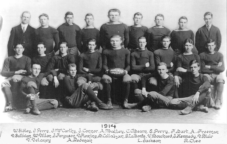 1914 Lawrence High School football team