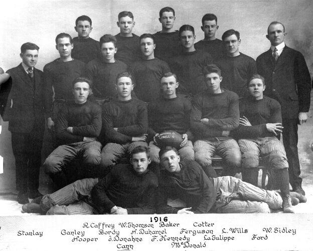 1916 Lawrence High School football team