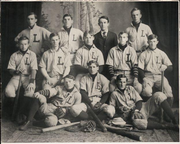 1906 Lawrence High School baseball team