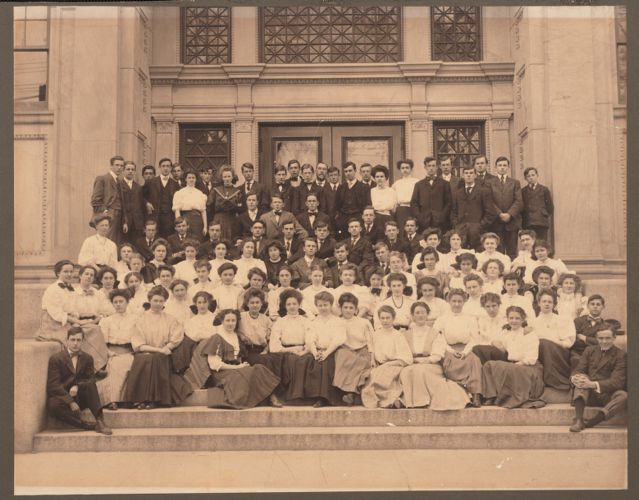 1907 Lawrence High School class