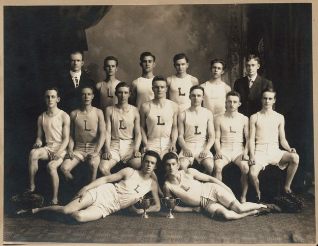 1912 Lawrence High School track team