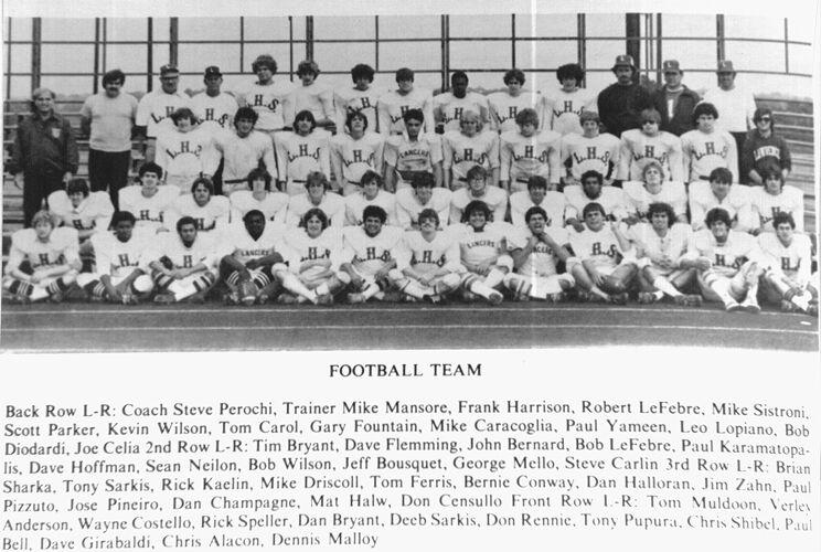 1982 Lawrence High School football team