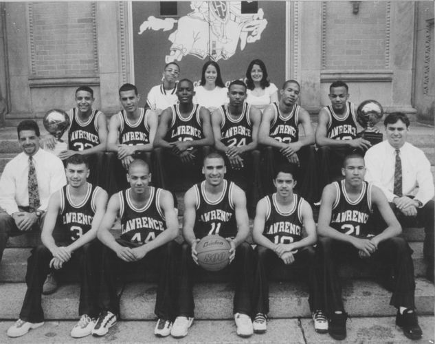 1995 Lawrence High School basketball team