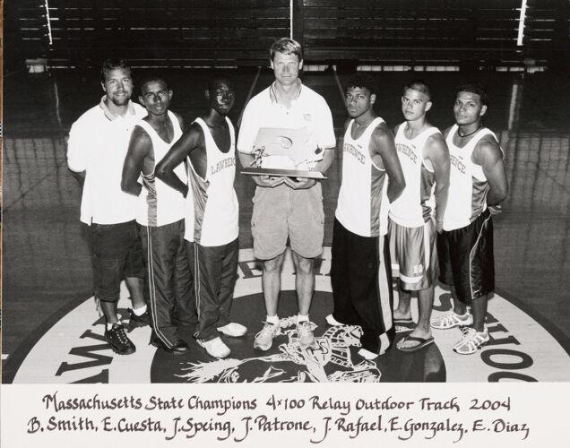2004 Lawrence High School track team