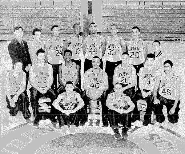 1994-95 Lawrence High School basketball team