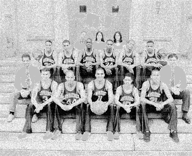 1995-96 Lawrence High School basketball team