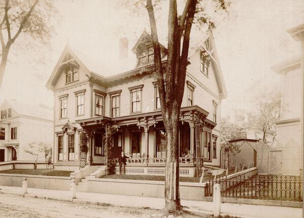 A. W. Stearns home