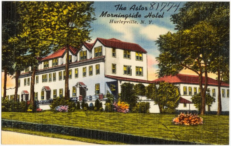 The Astor, Morningside Hotel, Hurleyville, N. Y.