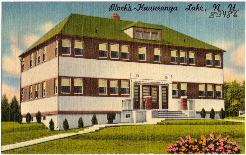 Block's -- Kauneonga Lake, N. Y.