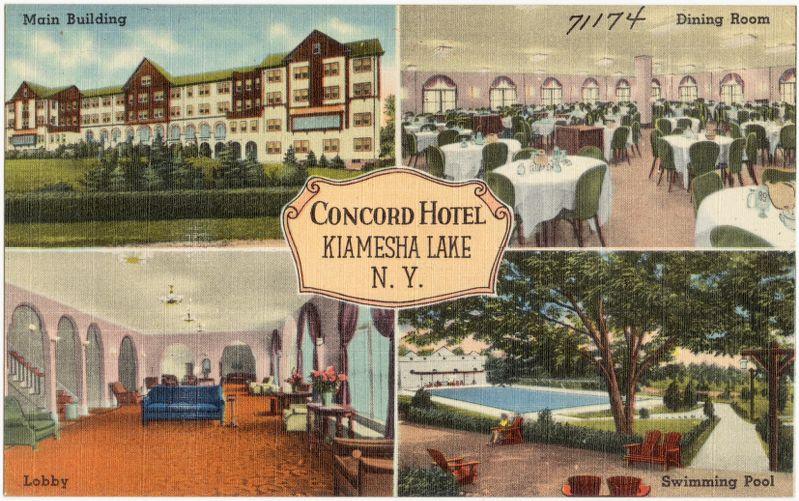 Concord Hotel, Kiamesha Lake, N. Y.