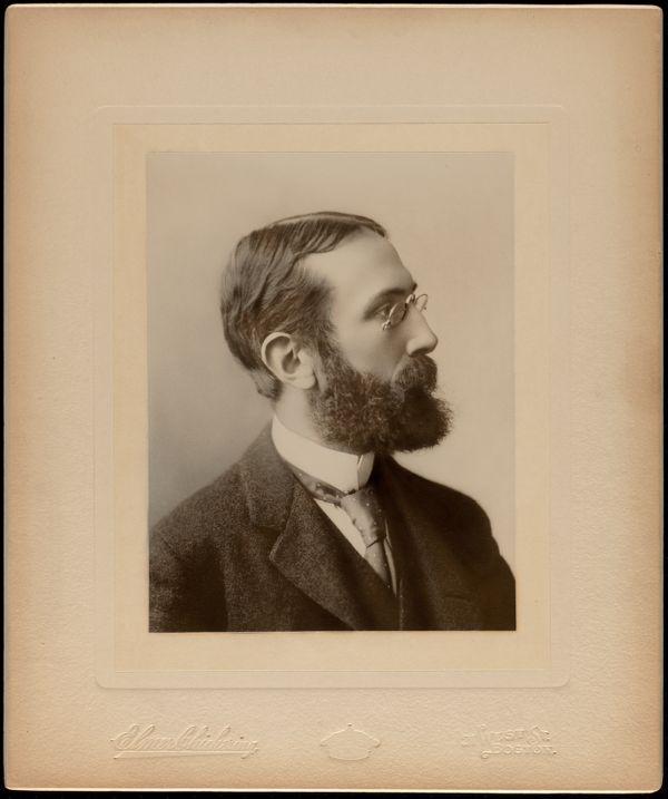 Portrait photograph of Charles Eliot (1859-1897), Mass., ca. 1892