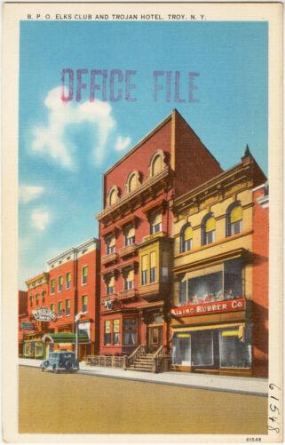 B. P. O. Elks Club and Trojan Hotel, Troy, N. Y.