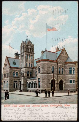 2680 - Post Office and Custom House, Springfield, Mass.