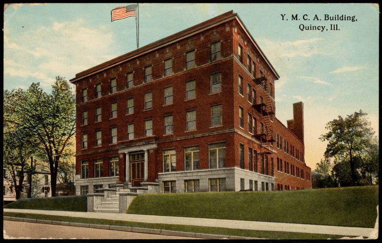 Y.M.C.A. building, Quincy, Ill.
