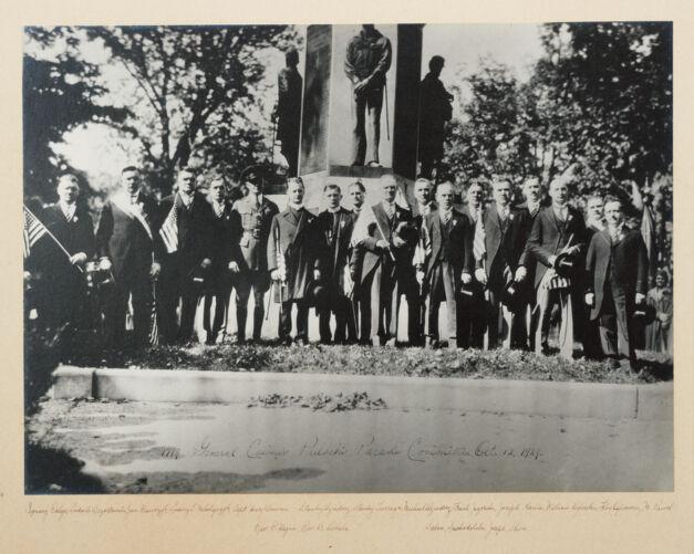 1779 General Casimir Pulaski Parade Committee Oct. 12, 1929