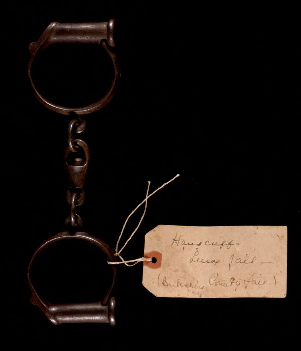 Handcuffs from Lenox jail