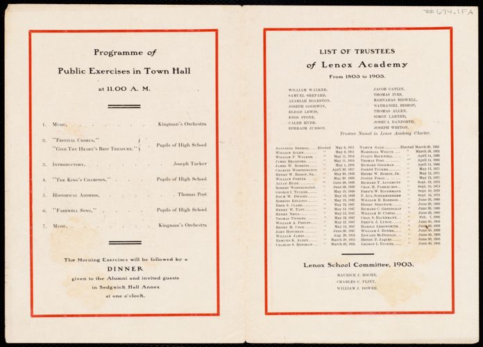 100th anniversary academy