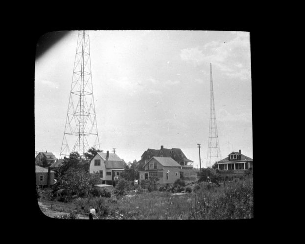 W. N. A. C. broadcasting station