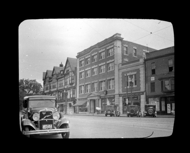 Additional story, Quincy Savings Bank (Adams building). June 1, 1932