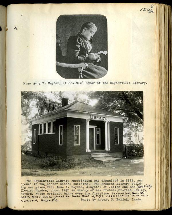 Dr. Charles Holmes Wheeler Scrapbook, Volume 5, Haydenville (Mass.) Records 1