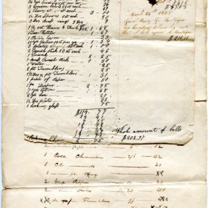 Williamsburg, Mass., Historical Society, Graves Farm Documents Collection