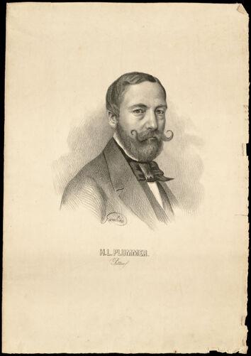 H.L. Plummer pittore.