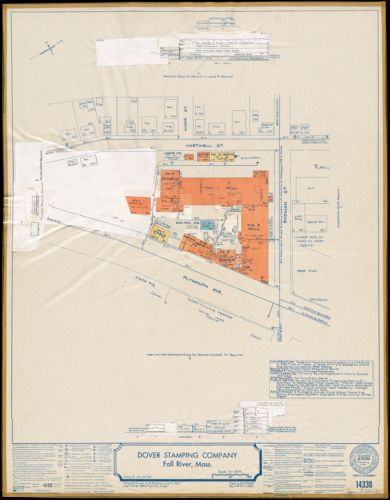 Dover Stamping Company, Fall River, Mass. [insurance map]