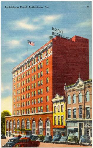 Bethlehem Hotel, Bethlehem, Pa.