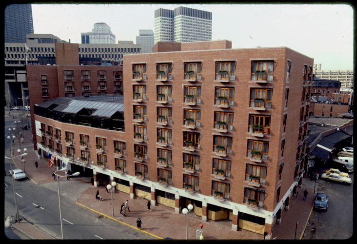 Bostonia Hotel, downtown Boston