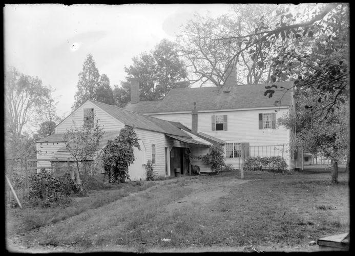 Annie E. Emerson house, rear