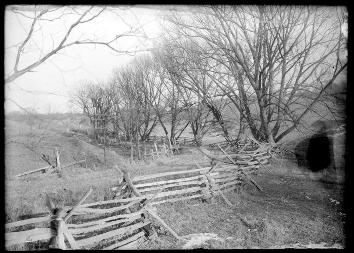 Virginia fence, Mill Street
