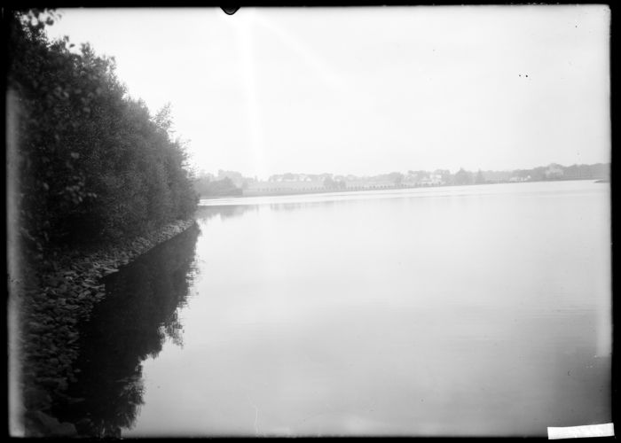 Across reservoir, Southboro - Plate #1 of 2