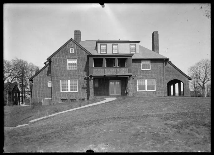 F B Allen house rear west side