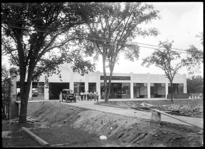 Edgewood block corner