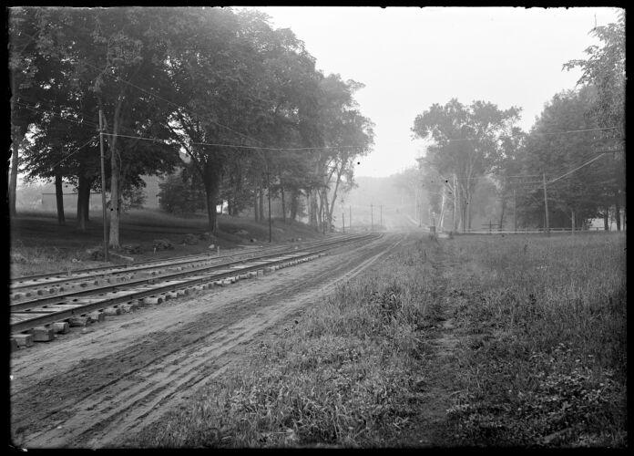 Arch, trolley tracks