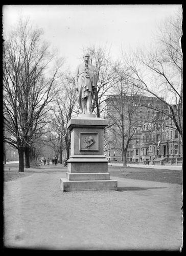 A. Hamilton statue Boston
