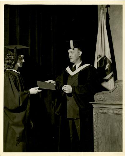 Graduation 1957