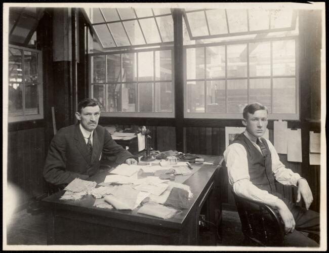 A. MacMillan, overseer of fancy dyeing